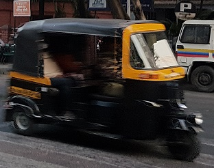 India - TUkTuk (Rikshaw)