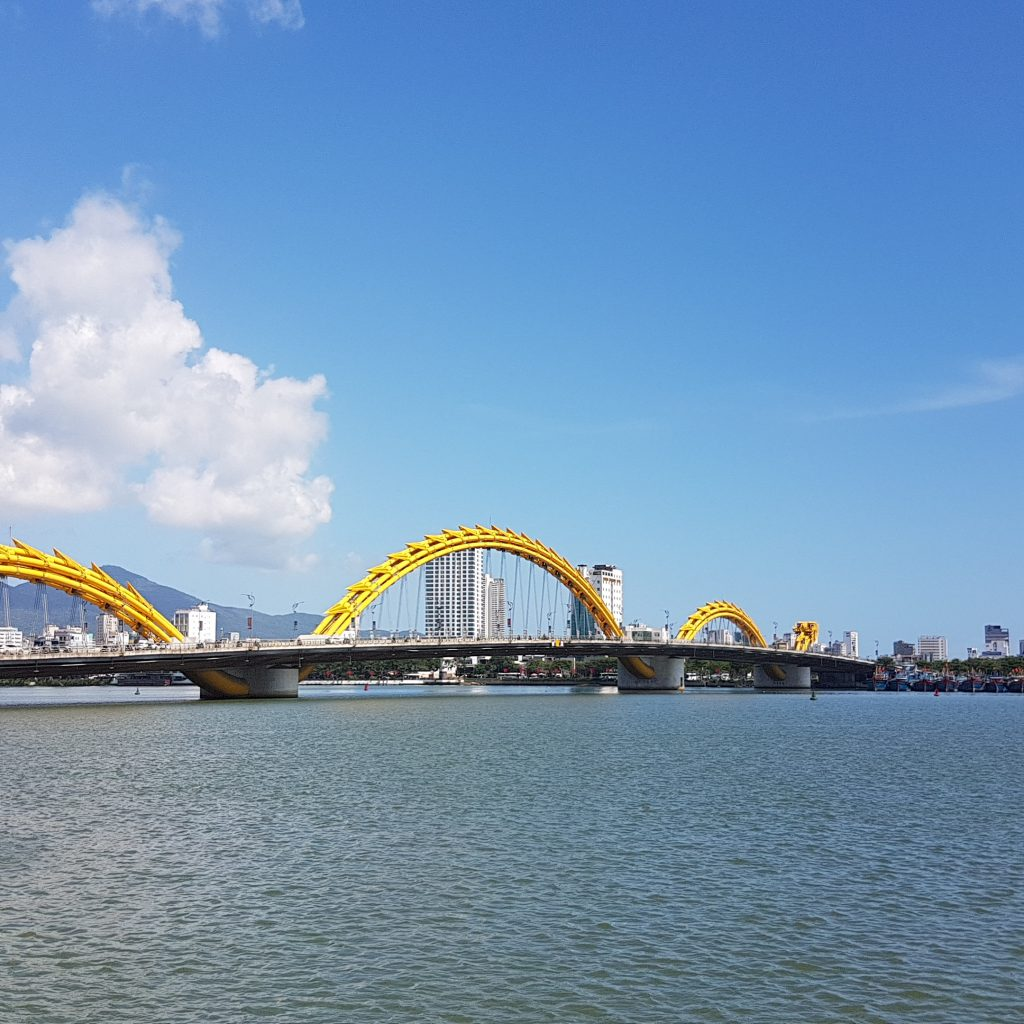Dragon Bridge in Da Nang - vietnam