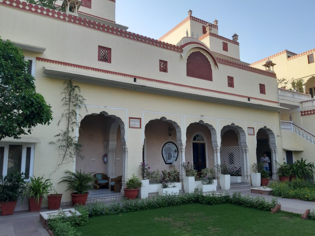 In India - Terras Mandawa Haveli