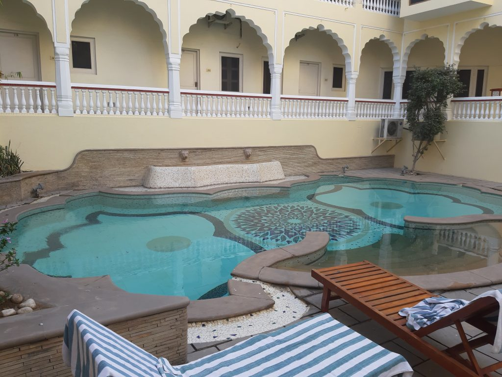 In India - Zwembad Mandawa Haveli