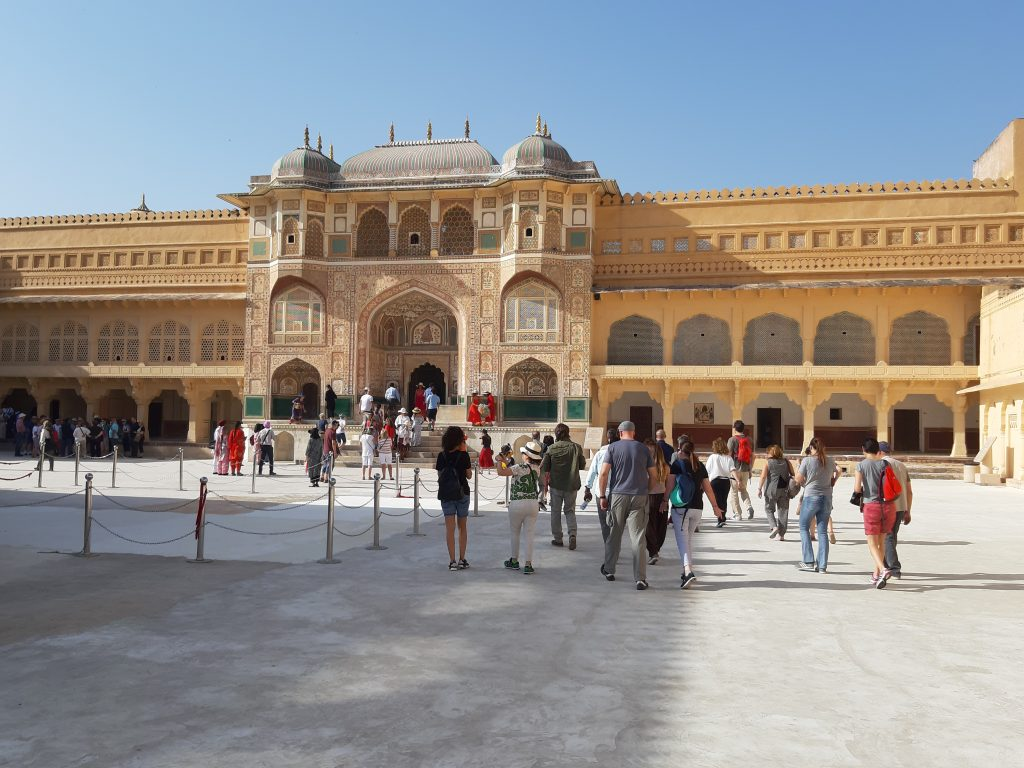 In India - Amber Fort Jaipur