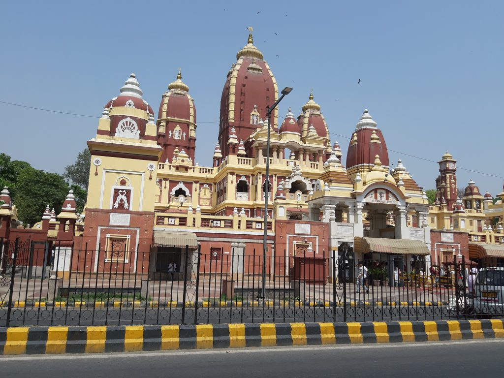 In India - Birla Mandir Temple